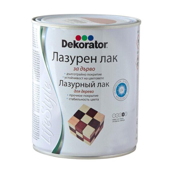 Лазурен лак Decorator безцветен