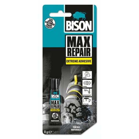 Универсално лепило Bison Max Repair Extreme, 8гр
