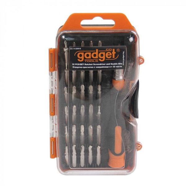 отвертка с накрайници gadget