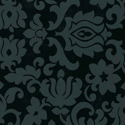 Мебелно фолио Орнамент декор черно 67.5см.