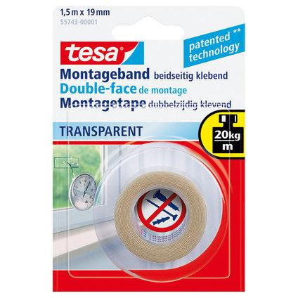 Двойнолепяща лента Теса прозрачна