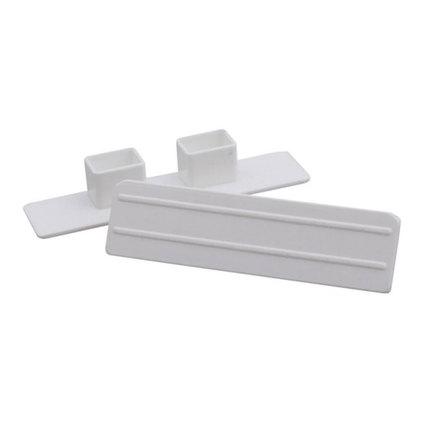 Тапа за PVC корниз двойна