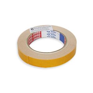 Двойнозалепваща лепенка Теса 5м 19мм Жълта