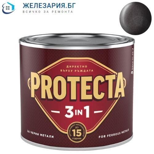 Боя за метал Протекта 3 в 1 - черно