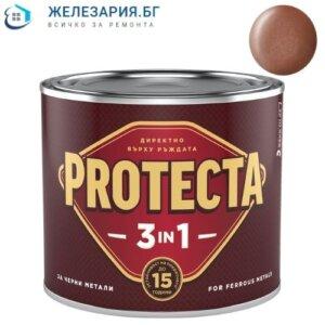 Боя за метал Протекта 3 в 1 - стара мед