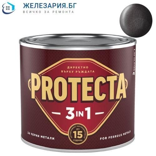 Боя за метал Протекта 3 в 1 - черен мат