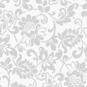 Мебелно фолио Цветя сребристи 67.5см.