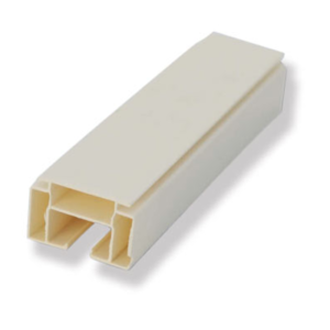 Корниз PVC единичен 2,5 м.