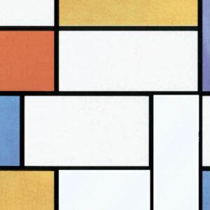 Витражно фолио цветни квадрати