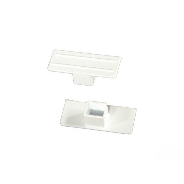 Тапа за PVC корниз единична