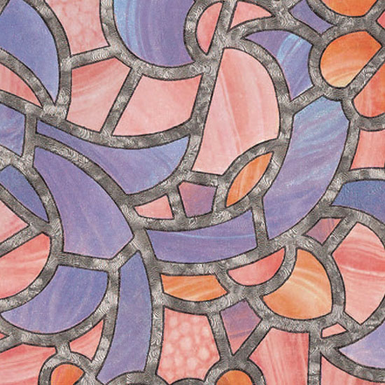 Витражно фолио цветна мозайка 67,5см.