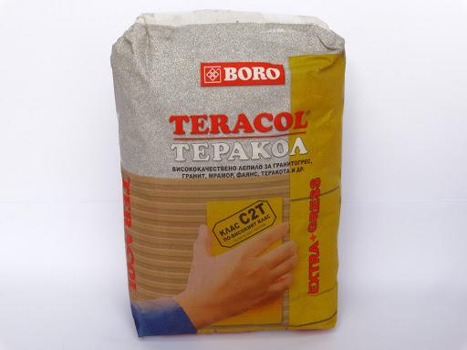 Теракол Боро 10кг. сив