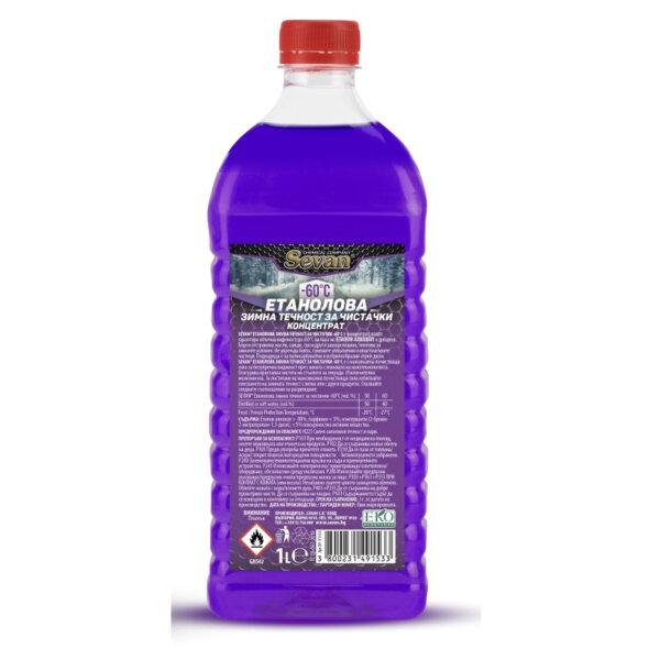 Течност за чистачки -60 Sevan Етанол 1л