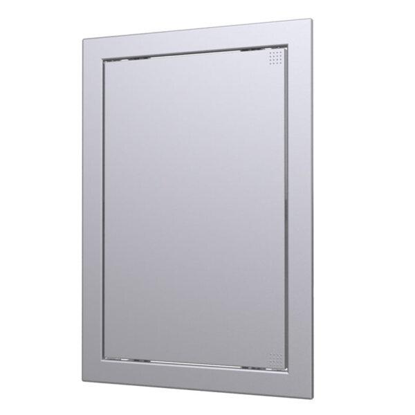 Ревизионен капак 150 х 150 сив металик
