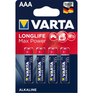 Батерия VARTA MAX TECH AAA 4+2 Промо