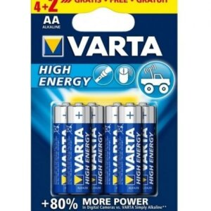 Батерия VARTA HIGH ENERGY 4+2 АА ПРОМО