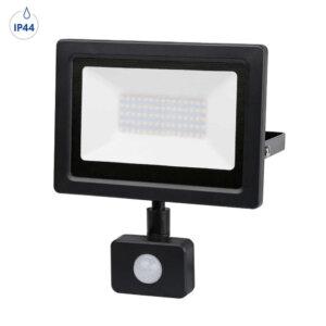 Прожектор LED 50W 6000К с датчик IP44