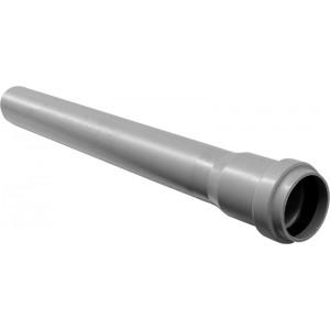 Тръба PVC ф50 муфирана 1м