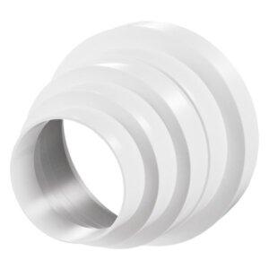 Пластмасов редуктор за кръгли въздуховоди