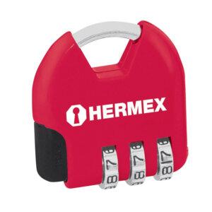 HERMEX катинар с шифър за багаж - 36 мм
