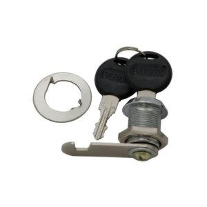 Ключалка за мебели с въртящ език KM-103