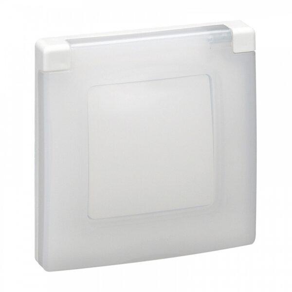 Рамка Легранд бяла IP44