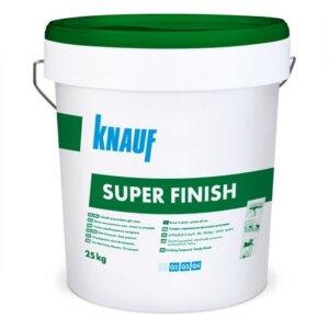 Готова шпакловка – KNAUF Super Finish 25кг