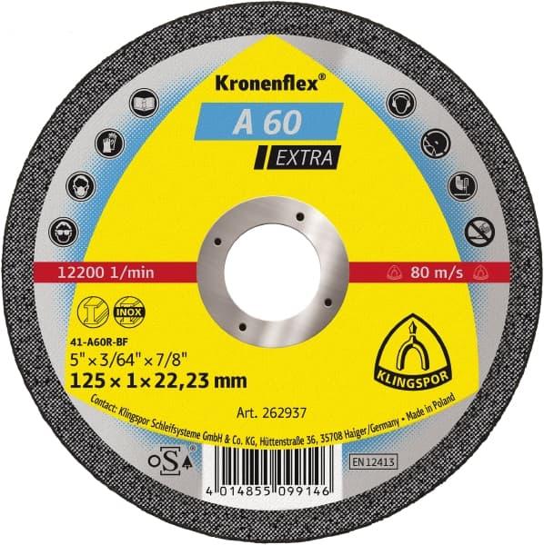 Диск за рязане на метал Ф115 х 1 х 22,23мм.