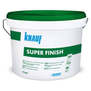 Готова шпакловка - KNAUF Super Finish 6кг.