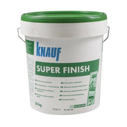 Готова шпакловка – KNAUF Super Finish 20кг.