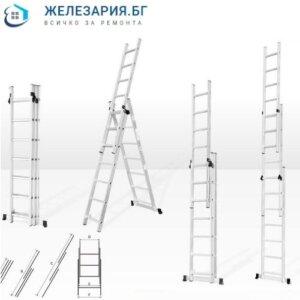 Алуминиева стълба комбинирана
