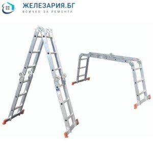 Алуминиева стълба сгъваема мултифункционална