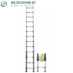 Алуминиева стълба телескопична