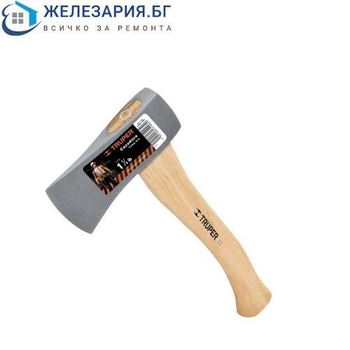 Къмпинг брадва Truper с дървена дръжка