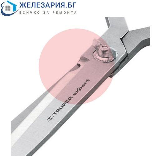 Ножица за храсти с дървени дръжки