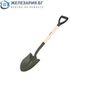 Градинска заострена лопата